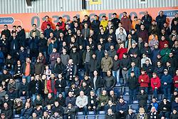 South stand at the start. Falkirk 0 v 1 Morton, Scottish Championship game played 18/3/2017 at The Falkirk Stadium.