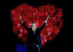 080308 Staff Photo by Gary Coronado/The Palm Beach Post --George Michael in concert at the BankAtlantic Center in Sunrise, Fla. Sunday (Credit Image: Palm Beach Post/ZUMAPRESS.com)
