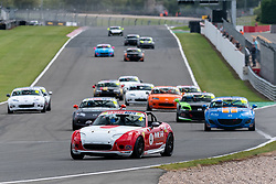 Adam Bessell pictured while competing in the BRSCC Mazda MX-5 SuperCup Championship. Picture taken at Donington Park on August 23, 2020 by BRSCC photographer Jonathan Elsey