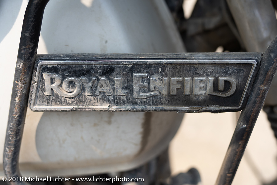 Our Royal Enfield were still looking good on day-9 of our Himalayan Heroes adventure riding from Pokhara to Nuwakot, Nepal. Wednesday, November 14, 2018. Photography ©2018 Michael Lichter.