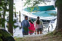 Lake Winnisquam water skiing, paddle boarding session with Cantin's.  ©2014 Karen Bobotas Photographer