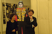 Lord and Lady Hollick. Century City Buffet dinner opening. Tate Bankside. 29 January 2001. © Copyright Photograph by Dafydd Jones 66 Stockwell Park Rd. London SW9 0DA Tel 020 7733 0108 www.dafjones.com