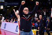 Matteo Boniciolli<br /> VL Pesaro - Fiat Torino<br /> Lega Basket Serie A 2018/2019<br /> Pesaro 13/01/2019<br /> M.Ciaramicoli   Ciamillo Castoria