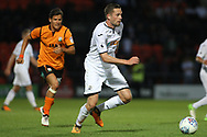 Gylfi Sigurdsson in action for Swansea city. Pre-season friendly match, Barnet v Swansea city at the Hive in London on Wednesday 12th July 2017.<br /> pic by Steffan Bowen, Andrew Orchard sports photography.