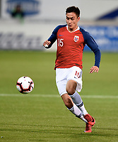 Fotball, 16. oktober 2018 ,  U21 , Norge - Azerbaijan , <br /> Norway <br /> Nicholas Mickelson , Norge