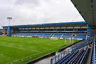 General view inside the Priestfield Stadium before the EFL Sky Bet League 1 match between Gillingham and Peterborough United at the MEMS Priestfield Stadium, Gillingham, England on 22 September 2018. Picture by Martin Cole