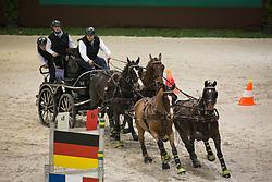 Sandmann Christoph, (GER), Amico 34, Donner 179, Fax 43, Lerry 1<br /> Concours Hippique International de Genève 2014<br /> © Hippo Foto - Dirk Caremans