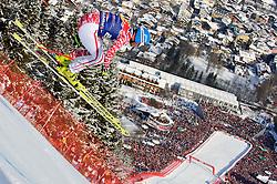 22.01.2011, Hahnenkamm, Kitzbuehel, AUT, FIS World Cup Ski Alpin, Men, Downhill, im Bild // Georg Streitberger (AUT) // during the men downhill race at the FIS Alpine skiing World cup in Kitzbuehel, EXPA Pictures © 2011, PhotoCredit: EXPA/ S. Zangrando
