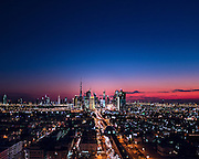 Twilight in Dubai