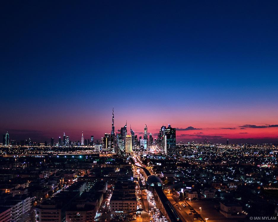Twilight in Dubai