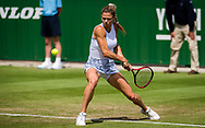 Camila Giorgi of Italy in action against Shellby Rogers of United States during her second round match at the 2021 Viking International WTA 500 tennis tournament on June 23, 2021 at Devonshire Park Tennis in Eastbourne, England - Photo Rob Prange / Spain ProSportsImages / DPPI / ProSportsImages / DPPI