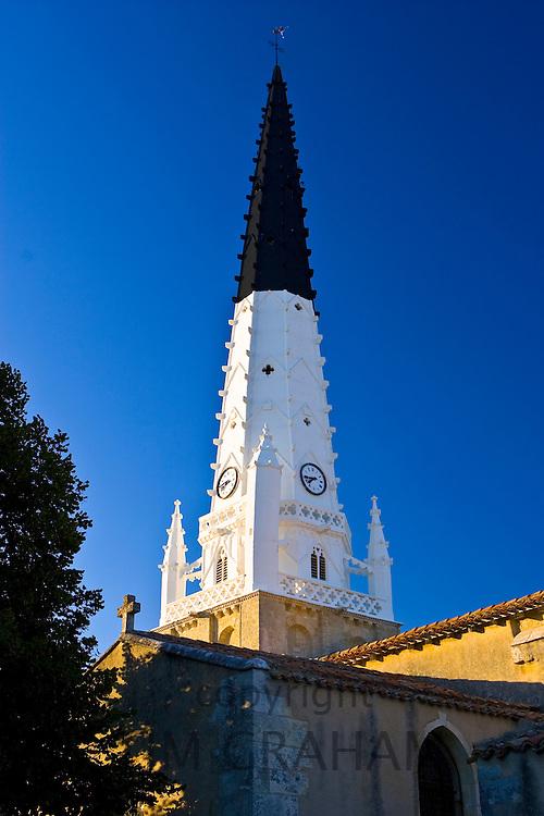 Church of Saint Etienne, Arls De Re, France.
