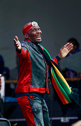 03 May 2013. New Orleans, Louisiana,  USA. .New Orleans Jazz and Heritage Festival. .Jimmy Cliff plays the Congo Square stage..Photo; Charlie Varley.