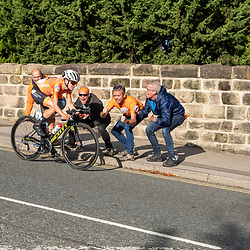 28-09-2019: WK wielrennen: Weg vrouwen: Yorkshire<br />Dutch Annemiek van Vleuten wins the womens worldtitle cycling in Harrogate