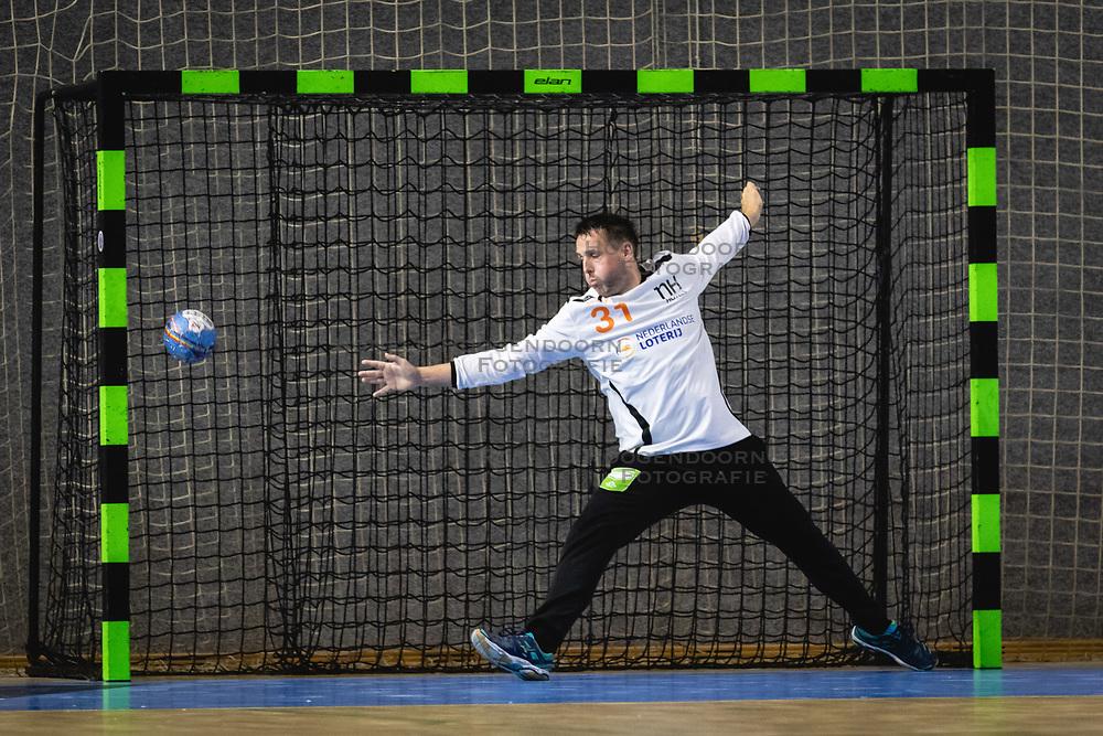 25-10-2019 SLO: Slovenia - Netherlands, Ormoz<br /> Gerrie Eijlers of Nederland during friendly handball match between Slovenia and Nederland, on October 25, 2019 in Sportna dvorana Hardek, Ormoz, Slovenia.