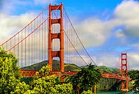Golden Gate Bridge, San Francisco, California USA