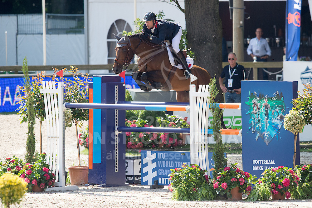 Patrice Delaveau (FRA) & Orient Express HDC - Furusiya FEI Nations Cup presented by Longines - CHIO Rotterdam 2016 - Kralingse Bos, Rotterdam, Netherlands - 24 June 2016