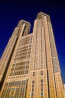 Tokyo Metropolitan Government Office (Tokyo Tocho), Tokyo, Japan