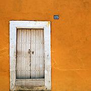 White Door, Yellow Wall