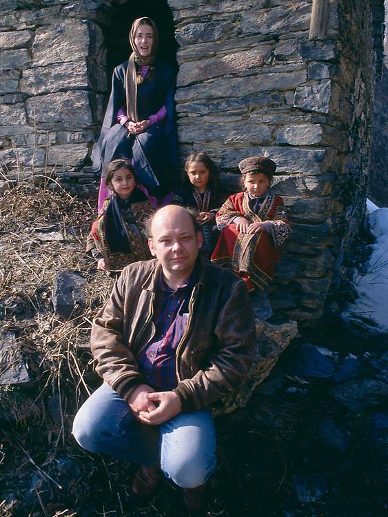 Greg Palmer, Caucasus Mountains, Tusheti Region, Village of Shatili, Soviet Socialist Republic of Georgia, The Falcon Production, spring 1990