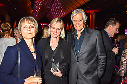 Lucy Fleming, Hermione Norris and Simon Williams at the Costa Book of The Year Award held at  Quaglino's, 16 Bury Street, London, England. 29 January 2019. <br /> <br /> ***For fees please contact us prior to publication***