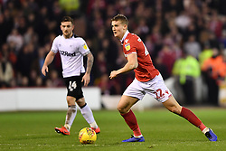 February 25, 2019 - Nottingham, England, United Kingdom - Ryan Yates (22) of Nottingham Forest  during the Sky Bet Championship match between Nottingham Forest and Derby County at the City Ground, Nottingham on Monday 25th February 2019. (Credit Image: © Mi News/NurPhoto via ZUMA Press)