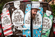 Mcc0089413 . Daily Telegraph<br /> <br /> DT Business<br /> <br /> Jim Cregan, co-founder of Jimmy's Iced Coffee .<br /> <br /> London 10 May 2019