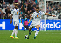 Football - 2016 / 2017 Premier League - West Ham United vs. Sunderland<br /> <br />  Jack Rodwell and Didier N'Dong of Sunderland of Sunderland at The London Stadium.<br /> <br /> COLORSPORT/DANIEL BEARHAM