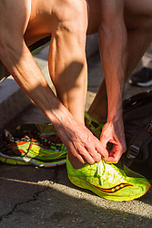 Boston Marathon: BAA 5K road race, Ben True takes off racing flats after victory