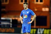 Jamie Stott. Stockport County FC 1-0 Yeovil Town FC. Vanarama National League. Edgeley Park. 6.2.21