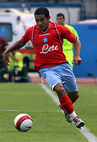 "Empoli (Florence, Italy) Stadium ""Carlo Castellani"" Match day 4 Serie A Campionship Empoli F.C.-S.S.C.Napoli September 23:<br /> Walter Alejandro Guevara Gargano of Napoli during the match on September 23, 2007 in Empoli, Italy. Empoli and Napoli 0-0<br /> Photo by Gianni Nucci/Insidefoto"