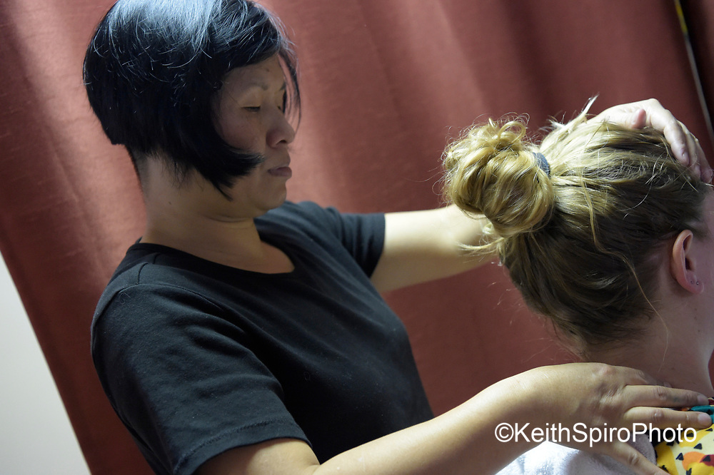 All points body works in Topsham Maine.  Images of open house and tour.