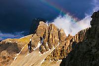 Mountain impression at base of Paternkofel - Europe, Italy, South Tyrol, Sexten Dolomites, Tre Cime - Afternoon - July 2009 - Mission Dolomites Tre Cime