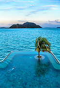 A swimmer in the pool of Evason Phuket and Six Senses Spa in Phuket, Thailand. Evason Phuket and Six Senses will be opened again as InterContinental Phuket Resort in 2019.