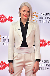 Wallis Day attending the British Academy Television Awards 2018 held at the Royal Festival Hall, Southbank Centre, London.