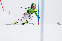 DUERRLena of Germany during 1st Run of 50th Golden Fox Audi Alpine FIS Ski World Cup Ladies Slalom, on February 2, 2014 in Podkoren, Kranjska Gora, Slovenia. (Photo By Urban Urbanc / Sportida.com)