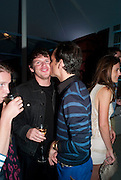 CHRISTOPHER KANE; MATTHEW WILLIAMSON, Alexandra Shulman, Editor of Vogue & Phil Popham, Managing Director of Land Rover<br /> host the 40th Anniversary of Range Rover. The Orangery at Kensington Palace. London. 1 July 2010. -DO NOT ARCHIVE-© Copyright Photograph by Dafydd Jones. 248 Clapham Rd. London SW9 0PZ. Tel 0207 820 0771. www.dafjones.com.
