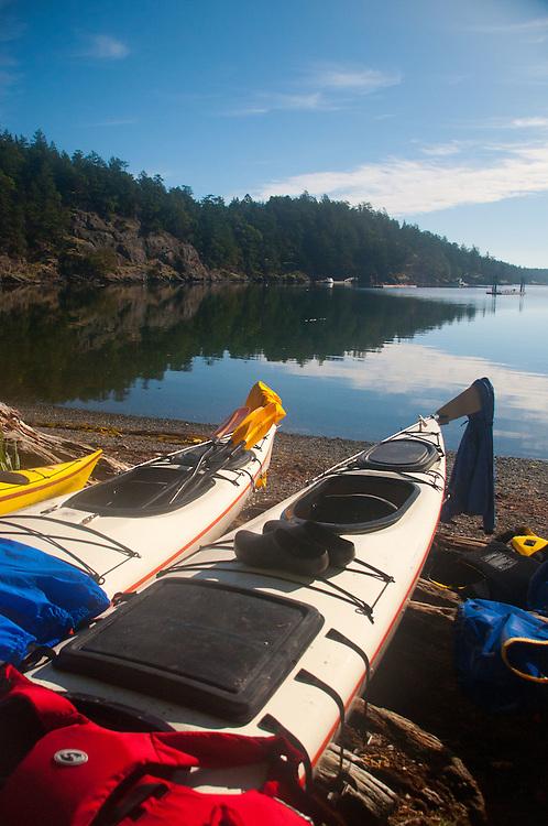 Late Afternoon at Reid Harbor, Stuart Island, Washington, US