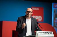 DEU, Deutschland, Germany, Berlin, 01.06.2018: Michael Biel, Vorsitzender der SPD Schöneberg, beim Landesparteitag der Berliner SPD im Hotel Andels.