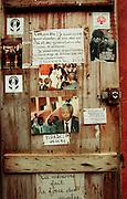 Notice Board - Goree Island Senegal