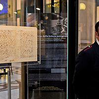 Galileo Galilei, esposta lettera autografa  su Venere e i satelliti di Giove