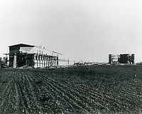 1915 Construction of Thomas Ince Studios in Culver City, later MGM Studios