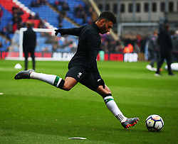 March 31, 2018 - London, Greater London, United Kingdom - Liverpool's Alex Oxlade-Chamberlain during the pre-match warm-up .during the Premiership League  match between Crystal Palace and Liverpool at Wembley, London, England on 31 March 2018. (Credit Image: © Kieran Galvin/NurPhoto via ZUMA Press)