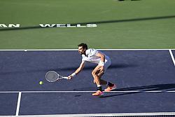 March 8, 2019 - Palm Desert, California, Usa - Tennis : BNP Paribas Open 2019 - Jeremy Chardy - France (Credit Image: © Panoramic via ZUMA Press)