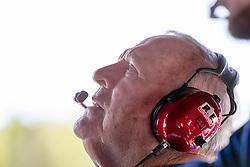 April 21, 2018 - Birmingham, Alabama, United States of America - Team Owner, AJ Foyt, Jr. waits for a practice session for the Honda Indy Grand Prix of Alabama at Barber Motorsports Park in Birmingham Alabama. (Credit Image: © Walter G Arce Sr Asp Inc/ASP via ZUMA Wire)