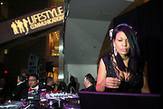 """DJ Beverly Bond at """" The Obama That One: A Pre-Inagural Gala Celebrating the Victory of President-Elect Obama celebration held at The Newseum in Washington, DC on January 18, 2009  .."""