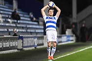 QPR Defender Todd Kane(2) during the EFL Sky Bet Championship match between Queens Park Rangers and Brentford at the Kiyan Prince Foundation Stadium, London, England on 17 February 2021.