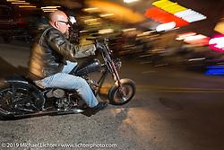 Main Street - Daytona Bike Week. FL, USA. March 13, 2014.  Photography ©2014 Michael Lichter.