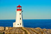 Peggy's COve lighthouse, Peggy's Cove, Nova Scotia, Canada