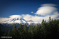Mount Rainier Lenticular Clouds